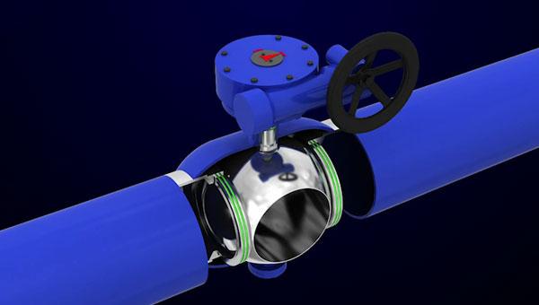 全焊接供热管线球阀