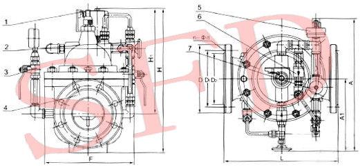水力电磁控制阀厂家600X水力电磁控制阀价格赛福迪水力控制阀品牌 600X水力电磁控制阀简介: 600X水力电磁控制阀是一种以电磁阀为向导阀的水力操作式阀门。常用于给排水及工业系统中的自动控制,控制反应准确快速,根据电信号遥控开启和关闭管道路系统,实现远程操作。并可取代闸阀和蝶阀用于大型电动操作系统。阀门关闭速度可调,平稳关闭而不产生压力波动。该阀门体积小、重量轻、维修简单、使用方便、安全可靠。电磁阀可选用交流电220V,或直流电24V,可根据各种场合选用常开或常闭型均可。 600X水力电磁控制阀作用与